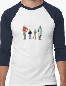 Johnny Jonny Quest Full Team Cartoon Men's Baseball ¾ T-Shirt