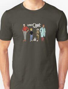 Johnny Jonny Quest Full Team Cartoon T-Shirt