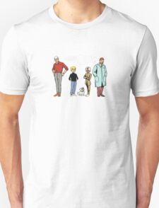 Johnny Jonny Quest Full Team Cartoon T-Shirt