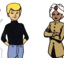 Johnny Jonny Quest Full Team Cartoon Sticker