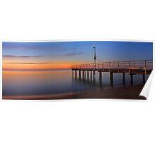 Esplanade Jetty - Rockingham Western Australia  Poster