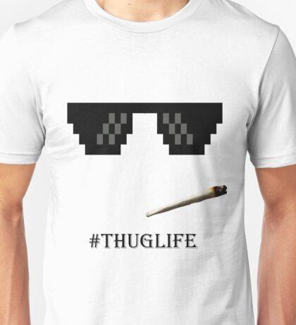 Thug Life Glasses Unisex T-Shirt