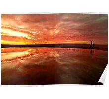 Infinity Sunset Poster