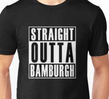 Straight Out Bamburgh Unisex T-Shirt