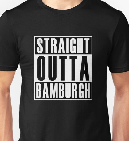 Straight Out Bamburgh Unisex T-Shirt