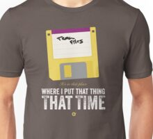 Hackers Movie - Floppy Disk - Cinema Obscura Collection Unisex T-Shirt