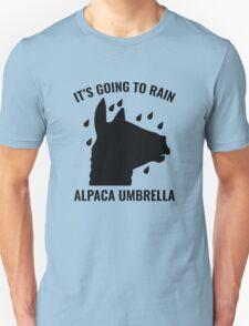 Alpaca Umbrella T-Shirt