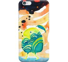 Smoking Monsters who smoke black bubbles iPhone Case/Skin