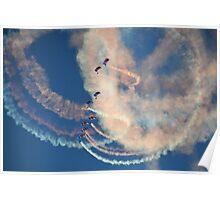 Raf Falcons Air Display Poster