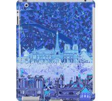 Paris skyline abstract iPad Case/Skin