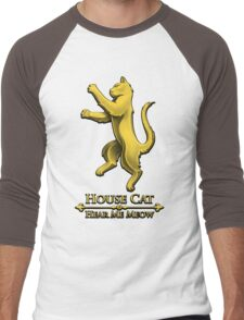 House Cat Men's Baseball ¾ T-Shirt