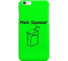 Main squeeze geek funny nerd iPhone Case/Skin