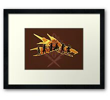 THE TWO SWORDS Framed Print