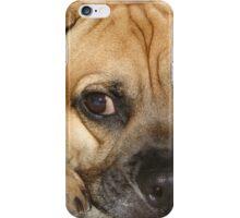 Puggle Face iPhone Case/Skin