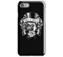 Pugs N Roses iPhone Case/Skin