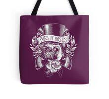 Pugs N Roses Tote Bag