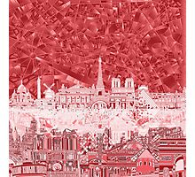 paris skyline abstract 2 Photographic Print