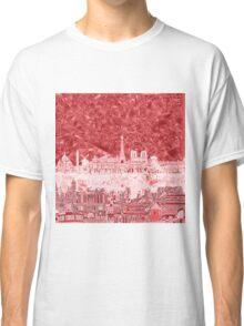 paris skyline abstract 2 Classic T-Shirt