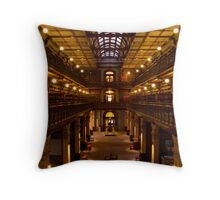 The Mortlock Wing, Adelaide Library, Australia Throw Pillow