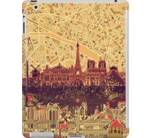 paris skyline abstract 3 iPad Case/Skin