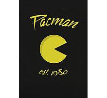 Pacman 80's (est.1980) Photographic Print