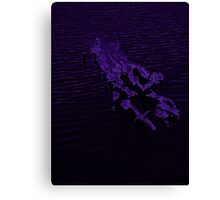 abstract moonlight Canvas Print