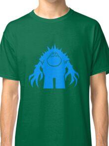 Marshmallow silhouette geek funny nerd Classic T-Shirt