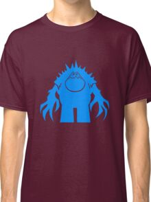 Marshmallow silhouette geek funny nerd Classic T-Shirt