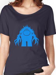 Marshmallow silhouette geek funny nerd Women's Relaxed Fit T-Shirt