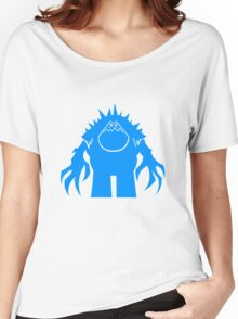 Marshmallow silhouette geek funny nerd Women's Relaxed Fit T-Shirt
