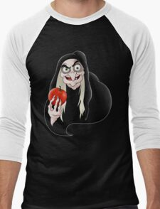 Evil queen witch  Men's Baseball ¾ T-Shirt