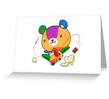 Animal Crossing Stitches Greeting Card