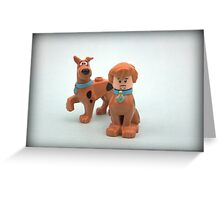 Scooby & Shaggy Doo  Greeting Card