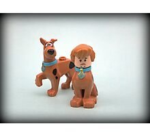 Scooby & Shaggy Doo  Photographic Print