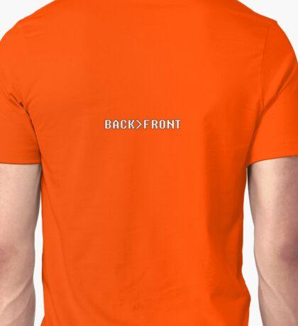 geek back front Unisex T-Shirt