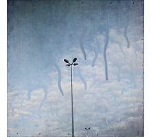 melting sky ~ Acid Rain Photographic Print