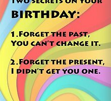 Two secrets on your birthday by mariatorg