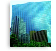 Mirrors in the Sky Canvas Print