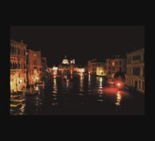 Impressions Of Venice - Grand Canal Gold Kids Tee