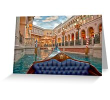 The Gondola Greeting Card