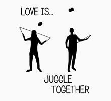 Love is...juggle together (diabolo) Unisex T-Shirt