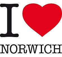 I ♥ NORWICH Photographic Print