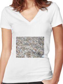 zdafim Women's Fitted V-Neck T-Shirt