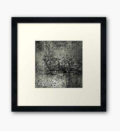 Murder machine Framed Print