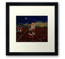 Outback  Santa...  Framed Print