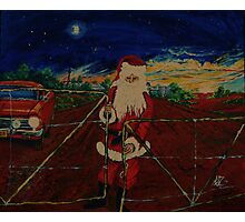 Outback  Santa...  Photographic Print