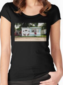 Americana  Women's Fitted Scoop T-Shirt