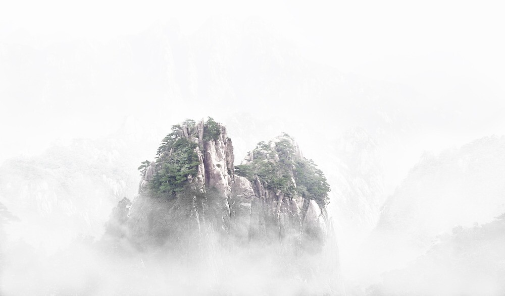 misty of huang shan by ming2