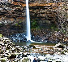 At Hardraw Force by Trevor Kersley