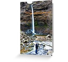At Hardraw Force Greeting Card